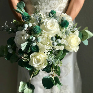 Indie Chic Bridal Bouquet