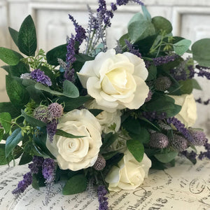 Purple Dreams Bridal Bouquet