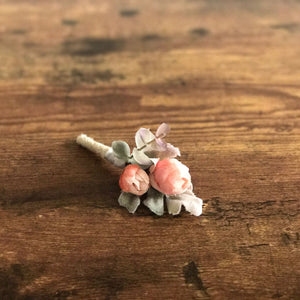Shabby Chic Boutonniere