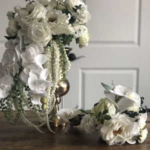 Classic White Bridesmaid Bouquet