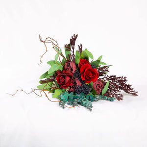 Silk Bouquet Burgundy - Bridesmaid