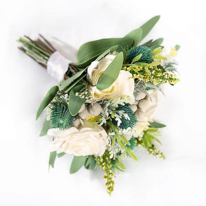 Silk Bouquet Spring - Bridesmaid