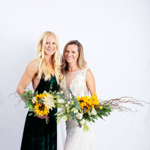 Silk Flower Sunflower - Bridesmaid