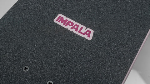 Impala Saturn Skateboard Detail