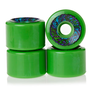 Slime Balls 66S 78A Neon Green wheels