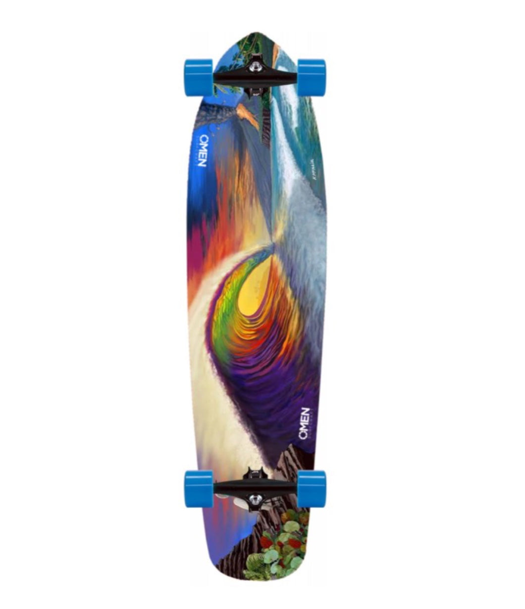 Omen Going Off Complete Longboard