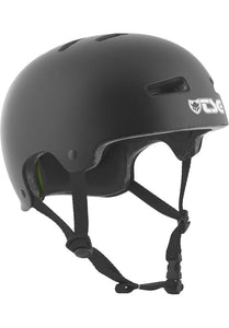 TSG Evolution Solid Colors Black Helm