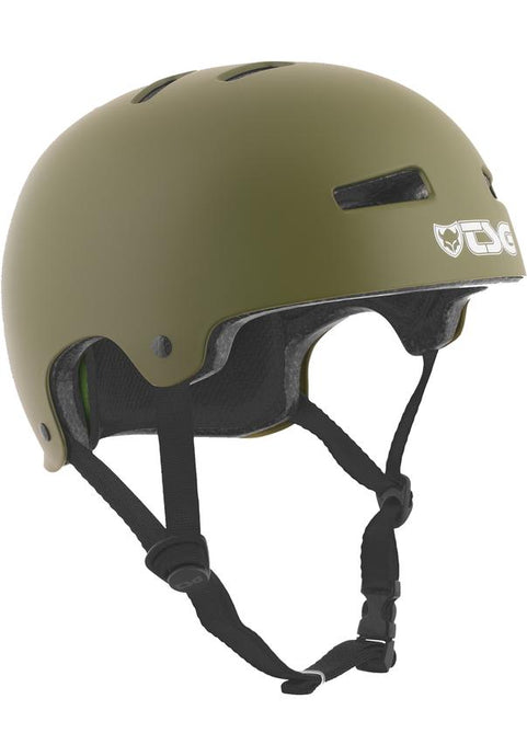 TSG Evolution Solid Colors Olive Helm
