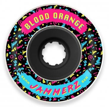 Blood orange 66MM 82a Blood orange longboard wielen