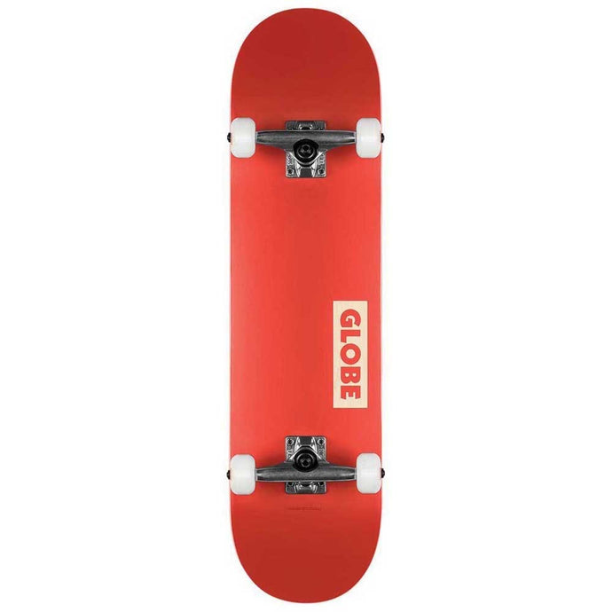 Globe goodstock red skateboard