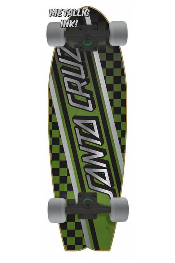 Santa Cruz Check Strip Cruiser