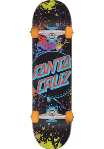 Santa Cruz Complete Dot Splatter Large 8.25""