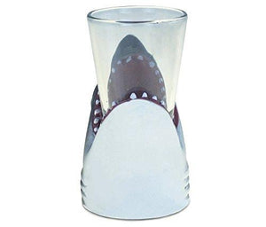 Puzzled Shark Cool Animal Head Shot Glass