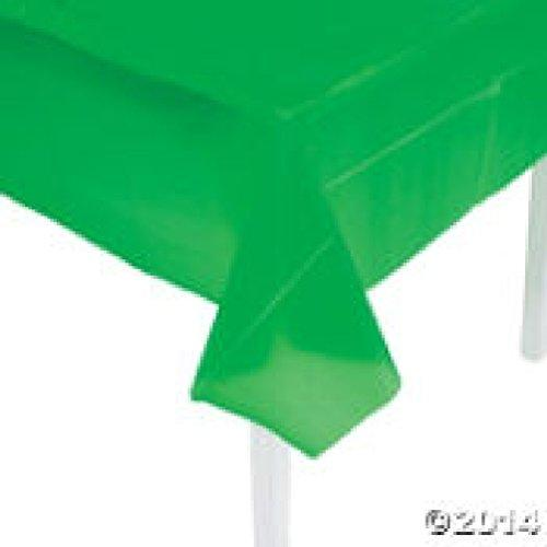 Economy Green Plastic Tablecloth