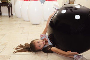 THE BIGGEST! Strikes and Spare Human sized inflatable bowling game