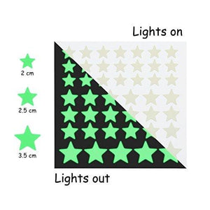 Glow in the Dark Stars and Moon Wall Stickers