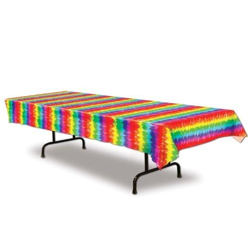 Beistle Tie-Dyed Table Cover