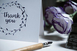Thank You Cards Set of 100