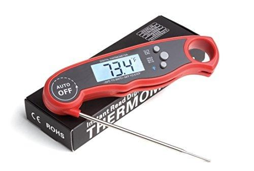 Digital Meat Thermometer Waterproof Fast Instant Read Foldable Kitchen Tool