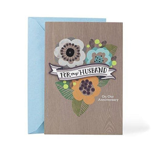Hallmark Anniversary Greeting Card