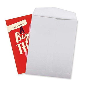 Jumbo Humorous Thank You Card: Big Ass Thank You