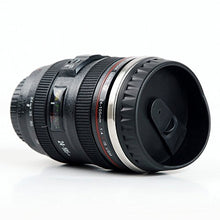 Coffee Mug Camera Lens Travel Thermos