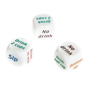 1pcs Funny Drinking Dice Game Rolling Decider Party Bar Pub Adult Favor Toys