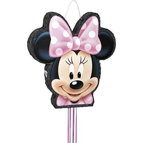 Minnie Mouse Pinata, Shaped Pull-String