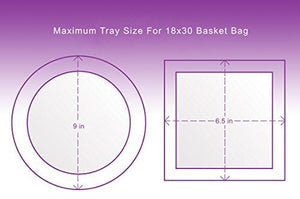 Clear Basket Bags 10 Pack