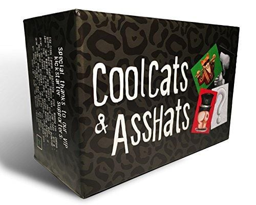 CoolCats & AssHats - Fun Adult Drinking Game for Parties