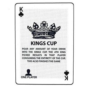 Kings Cup - Waterproof Drinking Game