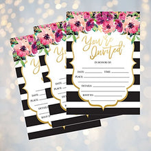 50 Fill In Invitations