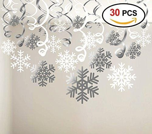 Konsait Snowflake Swirls Decoration