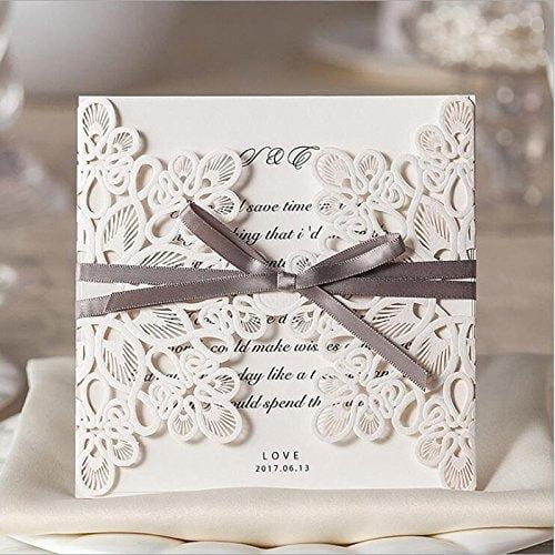 Doris home square wedding invitations cards kits stopboris