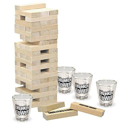 Drunken Tower: The Grab A Piece Adult Drinking Game