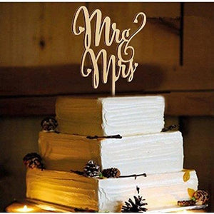 Mr and Mrs Cake Toppers