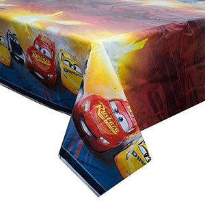 Disney Cars Plastic Tablecloth