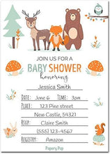 Papery Pop 30 Baby Shower Invitations Boy or Girl with Envelopes