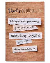 American Greetings Romantic True Love Thank You Card with Foil