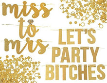 Party Bitches Banner Set