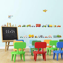 The Transports Kids Wall Stickers