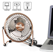 Small USB Desk Fan Quiet