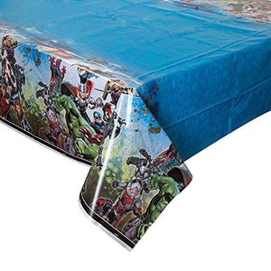 Avengers Plastic Tablecloth