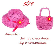 Girls Tea Party Sun Hat