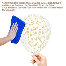Gold Confetti Balloons for Party Decoration