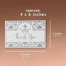 Thank You Notecards - 48-Pack Thank You Notes