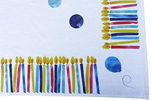 Large Happy Birthday Tablecloth / 100% Cotton