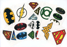 DC Comics Logo Temporary Tattoos