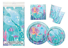 Mermaid Birthday Party Supplies Pack