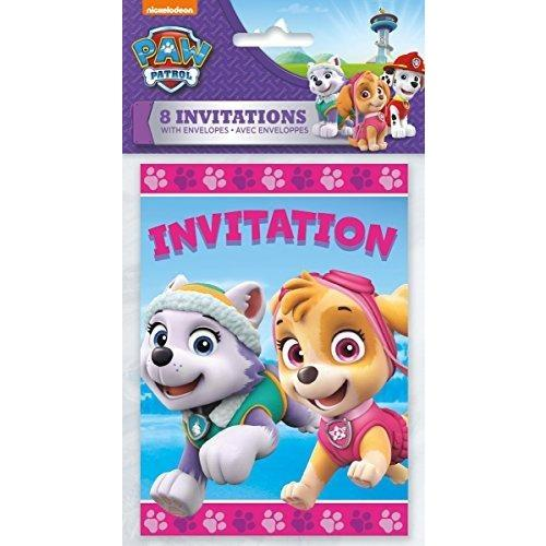 Unique Girl Paw Patrol Invitations
